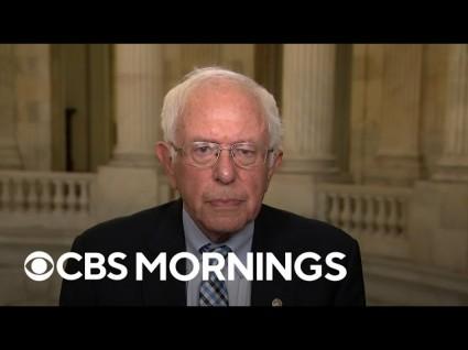 In Fiery Floor Speech, Bernie Sanders Tears Into McConnell