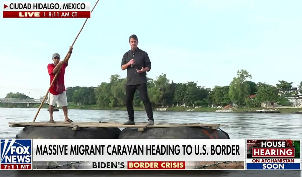 Not The Onion: Fox Fearmongers Over 'Caravan' 1000 Miles Away!