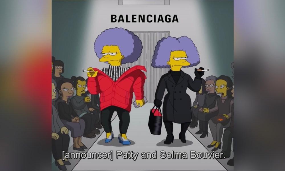 Balenciaga Put 'The Simpsons' On The Runway