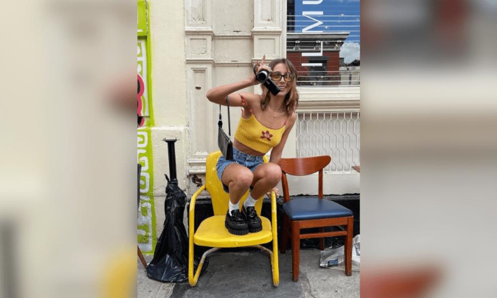 Emma Chamberlain Covers V Magazine