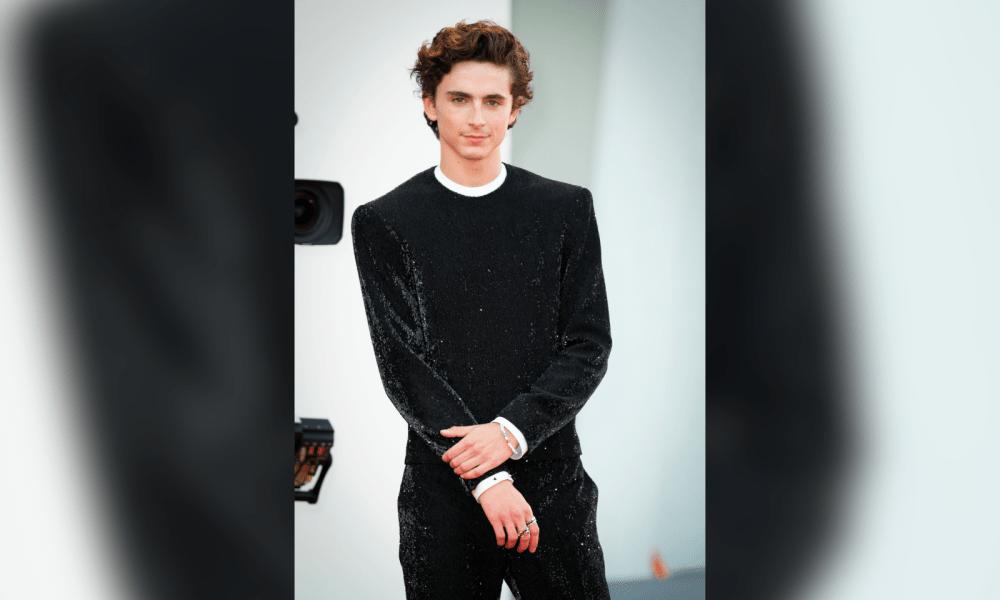 First Look At Timothée Chalamet In 'Wonka'