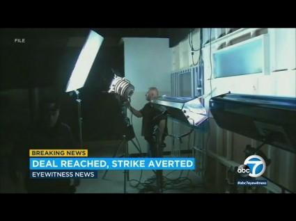 Hollywood Strike Averted – For Now