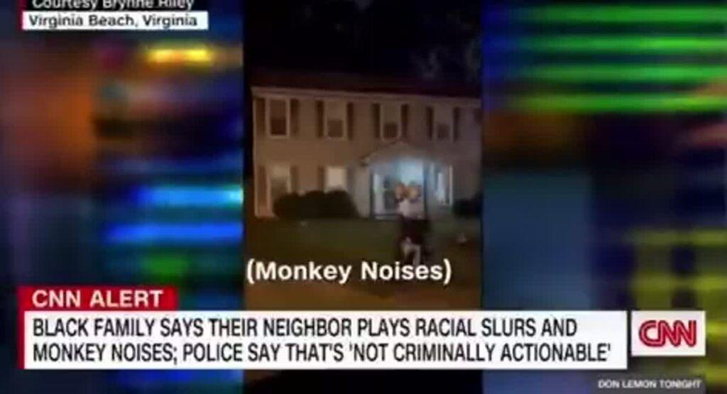 Virginia Beach Cops Refused To Crack Down On Family's Racist Neighbor